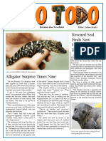 zoo newsletter