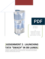 International Marketing Plan for Tata Swach Water Purifier