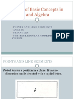 A Review of Basic Concepts in Geometry and Algebra