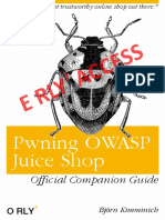 Pwning Owasp Juice Shop