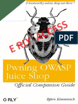 Pwning Owasp Juice Shop | Penetration Test | Google Chrome