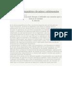 Diagnóstico Psiquiátrico de Niños y Adolescentes