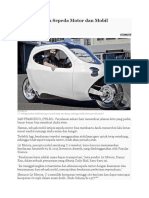 C-1 Gabungkan Sepeda Motor Dan Mobil