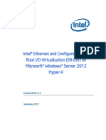 Ethernet SR_IOV Microsoft Windows Server 2012 Brief