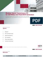 2015 12 GETRAG Lecture Modular Hybrid Transmission Kit