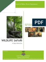 Concept Note Rajgir Wildlife Safari, Bihar LNCINDIA