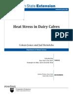 Heat Stress in Dairy Calves