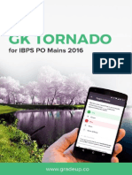 GK Tornado for IBPS PO Mains 2016 Exam 1