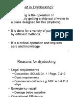 Drydocking - Michael's Class Presentation