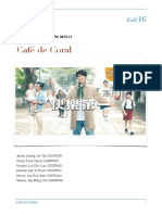Final Report on Cafe de Coral