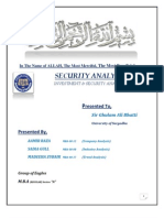 Investment & Security Analysis