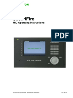 SecuriFire - MIC Operating Instructions