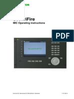 SecuriFire - MIC Operating Instructions