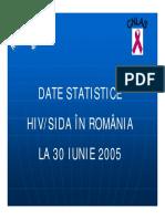 Date Romania 30 Iunie 2005