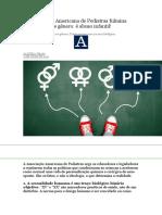 Associação Americana de Pediatras Fulmina Ideologia de Gênero