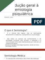 Psicopatologia - Aula I