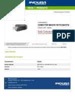 1022591-Conector Macho 5070 Dakota