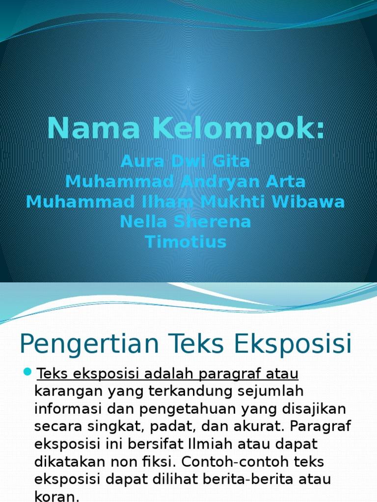 Bahasa Indonesia Present