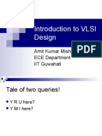 Introduction to VLSI Design