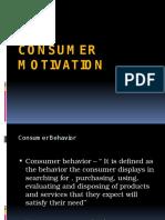 Consumer Motivation - BMM