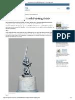 Swordmasters of Hoeth Painting Guide