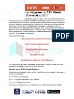 Root Locus Diagram - GATE Study Material in PDF
