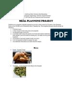465 - menu planning