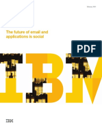 IBM Thought Leadership Whitepaper the Future of Email and Applications is Social