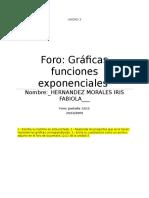 Cuestionario Foro 12_12 Graficas Exponenciales.- Hernandez Moarles Iris Fabiola