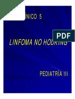Linfoma No Hodking Caso Clínico 5