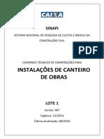 Sinapi Ct Lote1 Instalacao Canteiro Obras v007