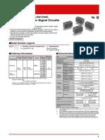 Datasheet Relay G5V 2