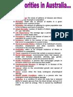 Core1 Glossary