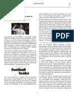 Ronaldo, 150 millions d'euros dans les paradis fiscaux