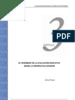 El fenómeno de la evaluación educativa desde la perspectiva docente Zulma Perassi