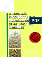 A Practical Handbook on the Pharmacovigilance of Antimalarial Medicines - World Health Organization (2009)
