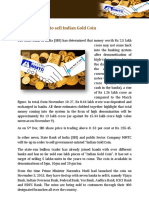 SBI Joins MMTC to Sell Indian Gold Coin