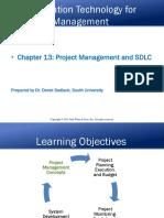 Chapter 13 Project Management and SDLC