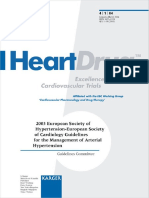 (Guidelines for the Management of Arterial Hypertension 2003 4) Sverre Erik Kjeldsen-2003 European Society of Hypertension - European Society of Cardiology Guidelines for the Management of Arterial Hy