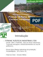 Grupo Titronic - Apresentação Proteção de Transportadores