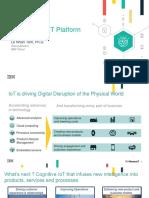 Presentation-Watson IoT Platform TamLN