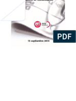 Boletín de Prensa 15 Septiembre 2014