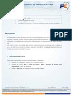 2088 - Configurar Banco de Dados Local Para Gerenciar Mesas