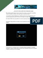 Manual Cliente de CCCAM Con OSCAM Vía Menú Del Receptor