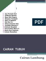 CAIRAN Lambung Klp 1