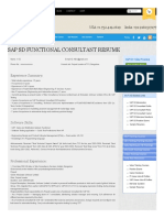SAP SD Functional Consultant Resume Sample - SAP, Oracle, Salesforce, Java Live Online Training & Video Courses I ITLearnMore.pdf
