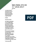 CANCIONES PARA 4TO DE BASICA PARA NOVIEMBRE.docx