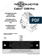 US Product King Cobra 1200 500 PSI