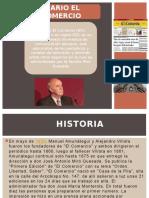 Historia Del Diario El Comercio