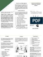 Triptico - Taladros Industriales - Procesos de Manufactura